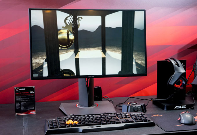 ASUS Republic of Gamers Swift PG27AQ 4K G-SYNC Display