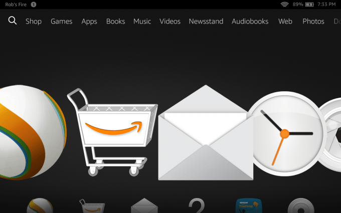 Amazon Fire HD 7 (2014) - Amazon's Apps