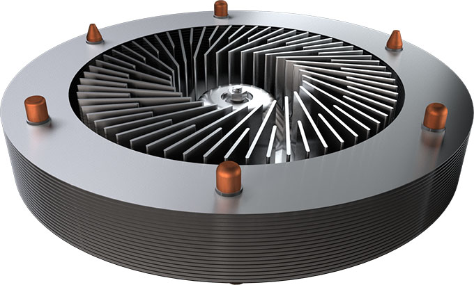 CoolChip Shows Off Its Ultra Low-profile Kinetic CPU Cooler At CES