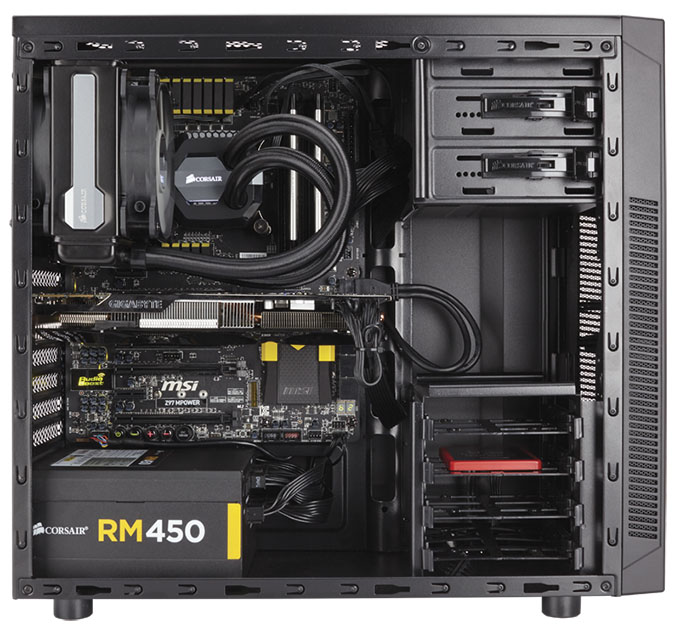 Corsair's $50 Carbide 100R Acts Like a Higher-end Chassis, Comes In A Silent Flavor For $10 More