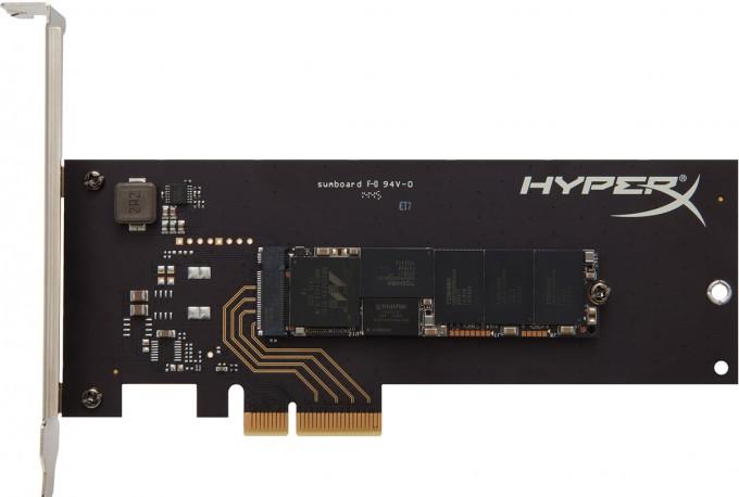 Kingston Shows Off HyperX Predator, PCIe-Optional M.2 SSD at CES 2015