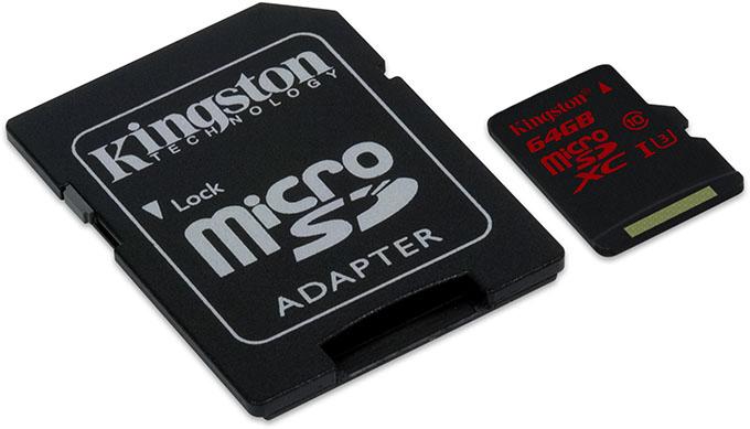 Kingston Intros Super-fast microSDXC UHS-I Class 3 Card & Ultra-secure Locker+ G3 Flash Drive