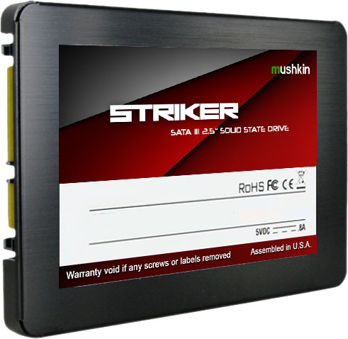 Mushkin Introduces New Striker SSDs At CES 2015