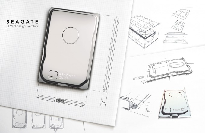 Seagate's All-steel 'Seven' Mobile Hard Drive Is World's Thinnest, Also World's Sexiest