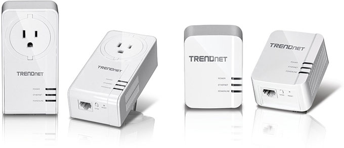TRENDnet 1200 AV2 Powerline Adapters