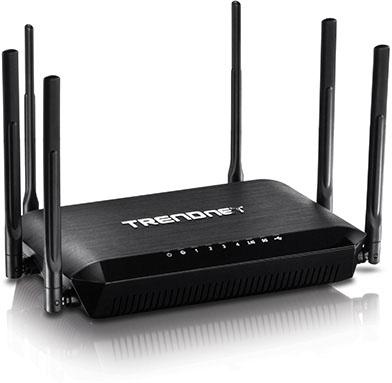 TRENDnet's TEW-828DRU Router Packs Dual 802.11ac Radios Under Its Hood