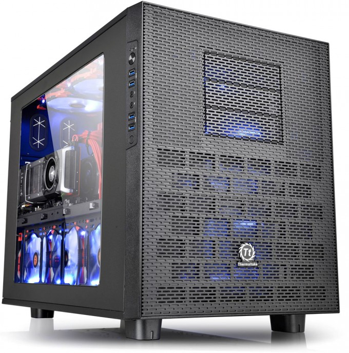 Thermaltake's Core X Cube Chassis Series: An Interesting New PC Chassis Design Concept