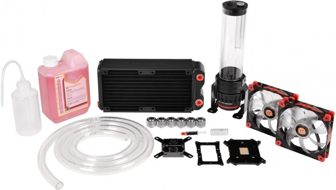 Thermaltake Brings Us Back To Our DIY Roots With Pacific RL240 Water Cooling Kit