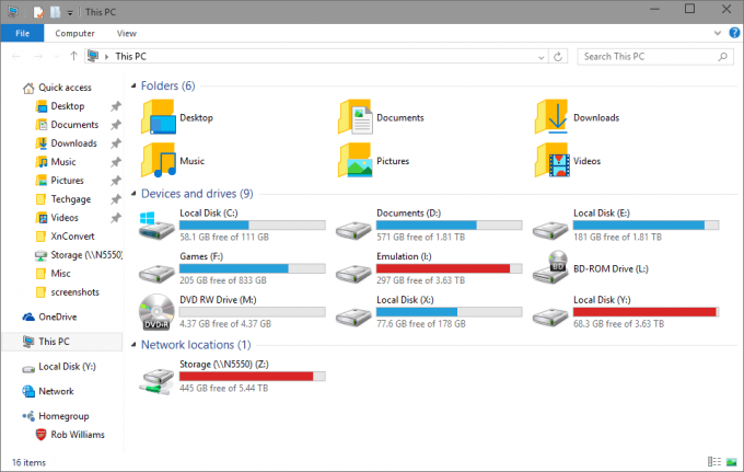 Windows 10 - Updated Folder and Icon Design