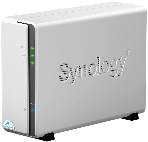 Synology BeyondCloud NAS - Angled