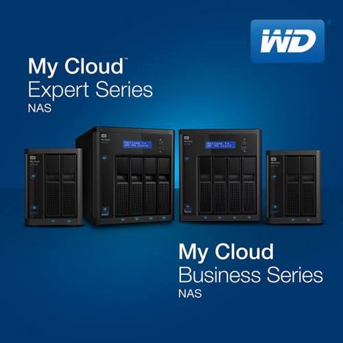 WD My Cloud Expert and Business NASes
