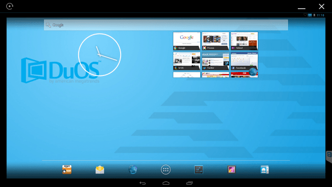 AMIDuOS - Main Android Desktop