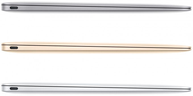 Apple MacBook (2015) Side-view