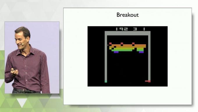 Google's Jeff Dean - Atari Breakout