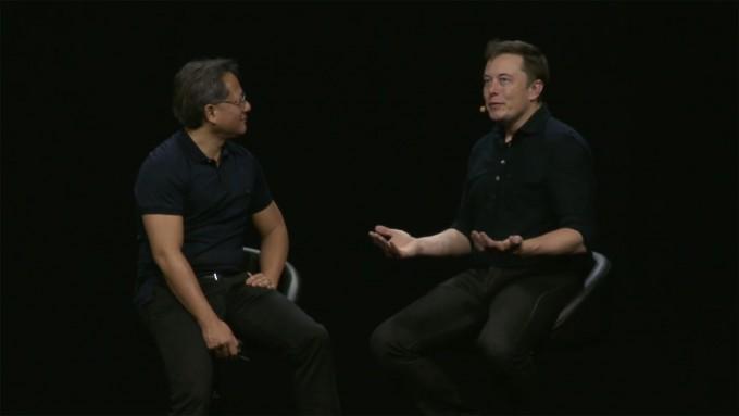 Jen-Hsun Huang and Elon Musk
