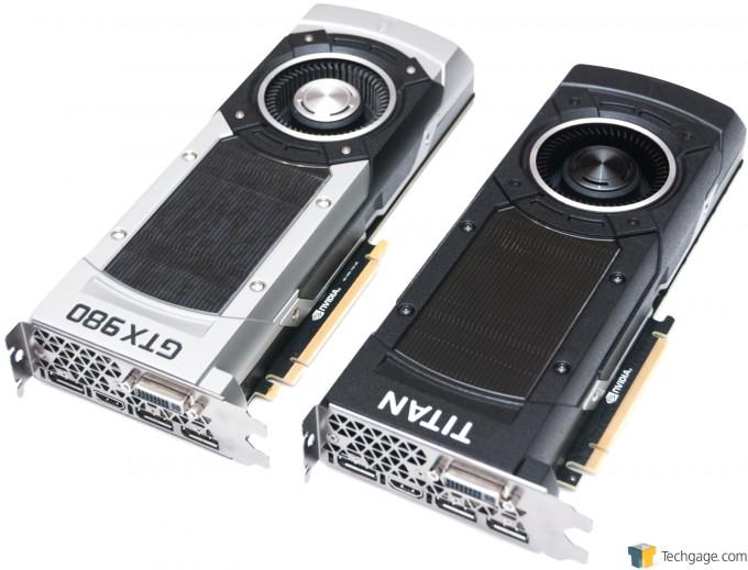 NVIDIA GeForce GTX TITAN X - GTX 980 vs. GTX TITAN X