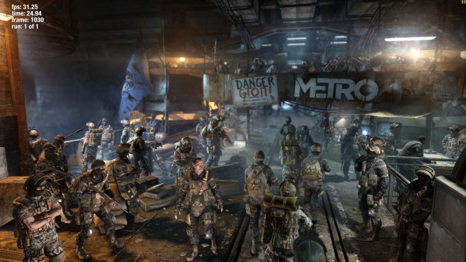 NVIDIA GeForce GTX TITAN X - Metro Last Light at 4K