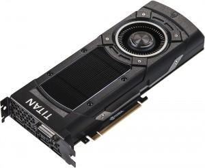 NVIDIA GeForce GTX TITAN X Stock Photo