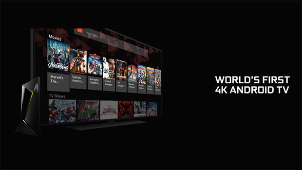 NVIDIA SHIELD - 4K Android TV