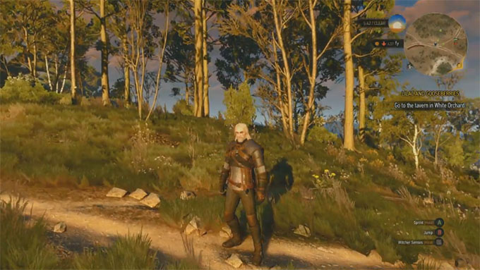 NVIDIA SHIELD - The Witcher 3 Wild Hunt on GRID