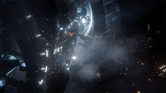 NVIDIA SHIELD - Unreal Engine 4 The Infiltrator Demo 02
