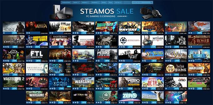 SteamOS Sale