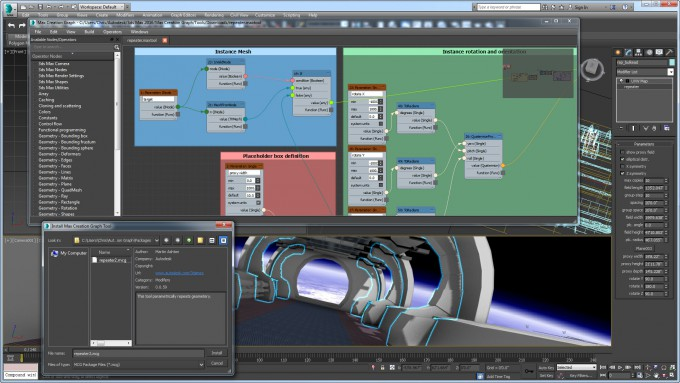 Autodesk 3ds Max 2016 - Creation Graph