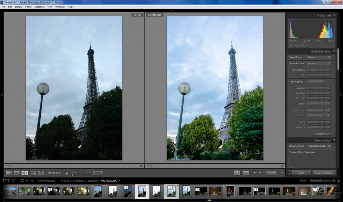 Adobe Photoshop Lightroom CC / 6 - HDR Processing
