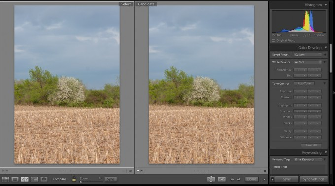 Adobe Photoshop Lightroom CC / 6 - HDR Compare