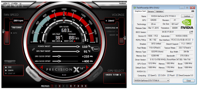 NVIDIA GeForce GTX TITAN X Overclocking & Best Playable Settings
