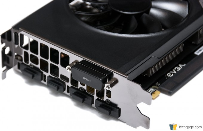 EVGA GeForce GTX 960 SSC 2GB - Back Ports