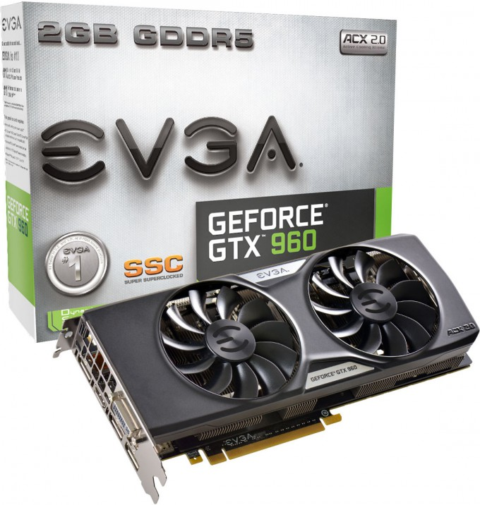 EVGA GeForce GTX 960 SuperSC 2GB - Packaging