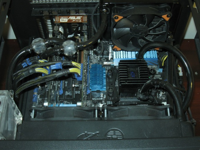 Fractal Design Define R5 Water Cooling - HAF XB EVO Hardware