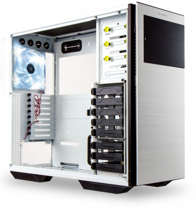 In Win 707 Full-tower Chassis - White