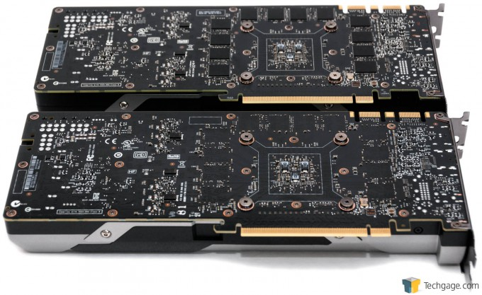 NVIDIA GeForce GTX 980 Ti - Card Back, With GeForce TITAN X