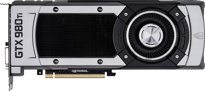 NVIDIA GeForce GTX 980 Ti - Side View