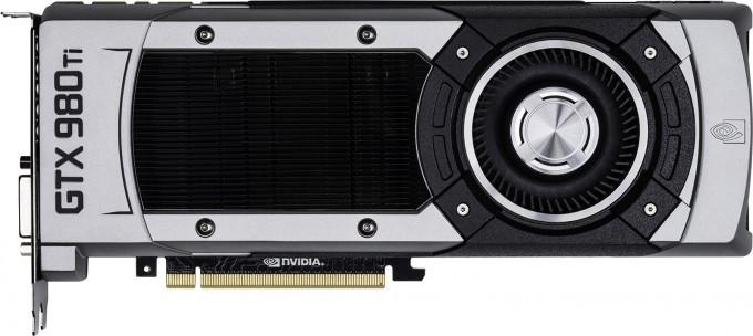 NVIDIA GeForce GTX 980 Ti - Side View