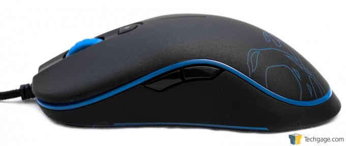 Ozone Gaming Neon Mouse Side View 07