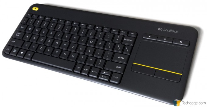 c8f537ec0da Logitech Wireless Touch Keyboard K400 Plus Review – Techgage