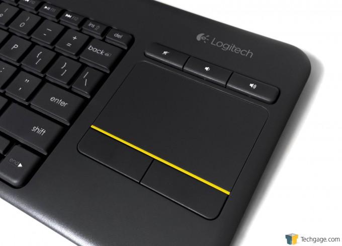 Logitech K400 Plus Keyboard - Touchpad
