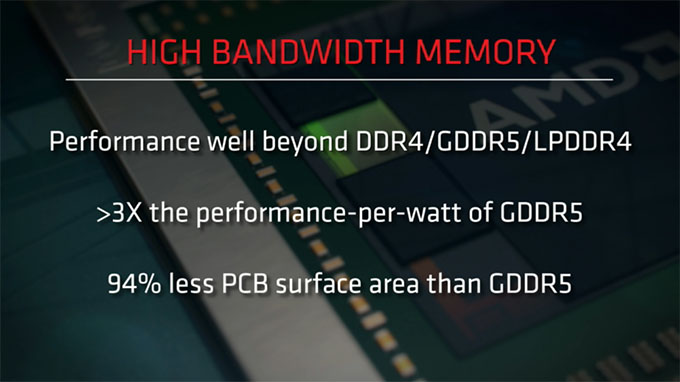 AMD High Bandwidth Memory Perks