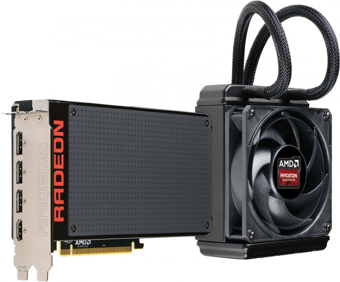 AMD Radeon Fury X Graphics Card