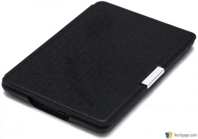 Amazon Kindle Paperwhite (2015) - Leather Cover Case