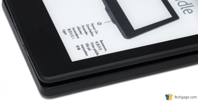 Amazon Kindle Paperwhite (2015) - Thickness Compared To Kindle Fire HD 7