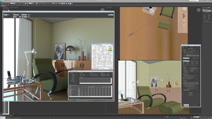 Autodesk 3ds Max 2015 - Room Render Report