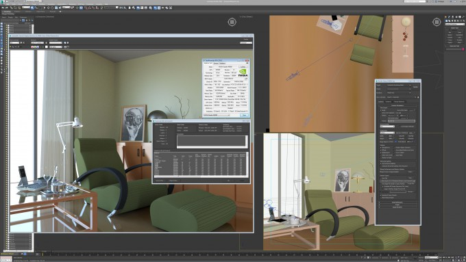 Autodesk 3ds Max 2016 - Room Render Report