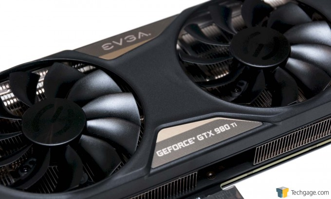 EVGA GeForce GTX 980 Ti Superclocked+ - Close-up