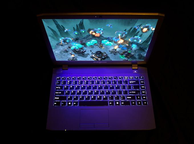 Eurocom M4 Notebook - Backlighting