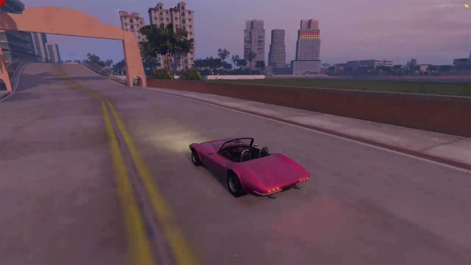 Someone's Converting Vice City To Grand Theft Auto V, And