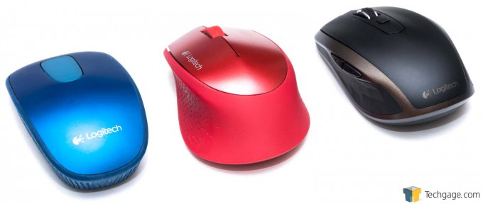 Logitech MX Anywhere 2 Portable Mouse - Evolution